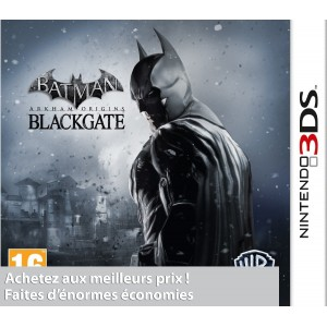 Batman : Arkham Origins Black Gate pas cher sur 3DS