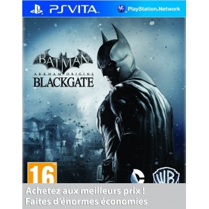 Batman : Arkham Origins Black Gate pas cher sur Vita