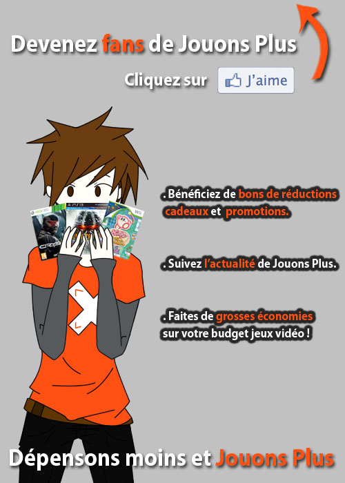 Devenez fan de notre page !