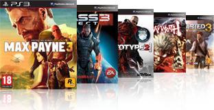 Reprise jeux PS3
