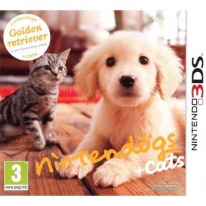 Nintendogs + Cats Golden Retriever & ses Nouveaux Amis [3DS]