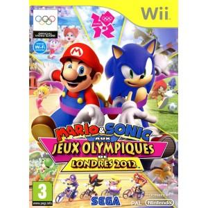 Mario & Sonic Aux Jeux Olympiques De Londres 2012 [WII]