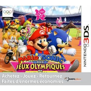 Mario & Sonic aux Jeux Olympiques de Londres 2012 [3DS]