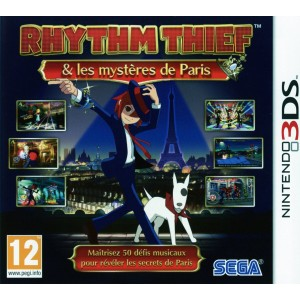 Rhythm Thief & Les Mysteres De Paris [3DS]