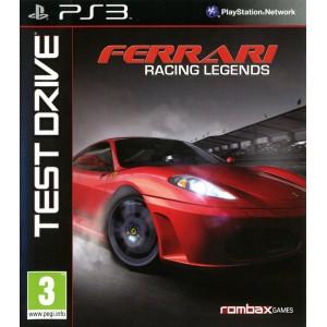 Test Drive : Ferrari Racing Legends [PS3]