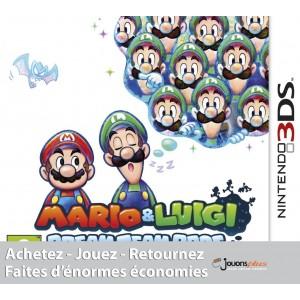 Achat Mario et Luigi Dream Team Bros pas cher sur 3DS
