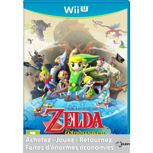 The Legend Of Zelda : The Wind Waker HD pas cher Wii U