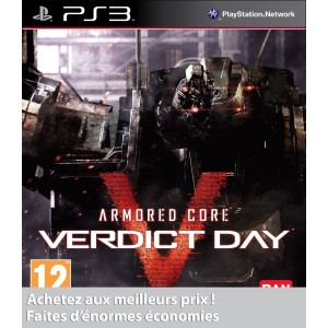 Armored Core : Verdict Day PS3