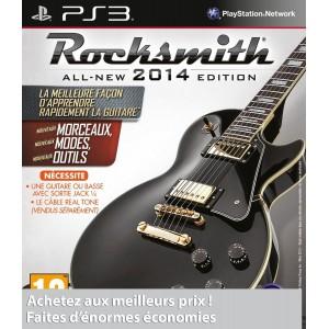 Rocksmith Edition 2014 pas cher sur PS3